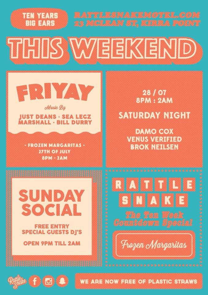 Rattle Snake Motel Poster