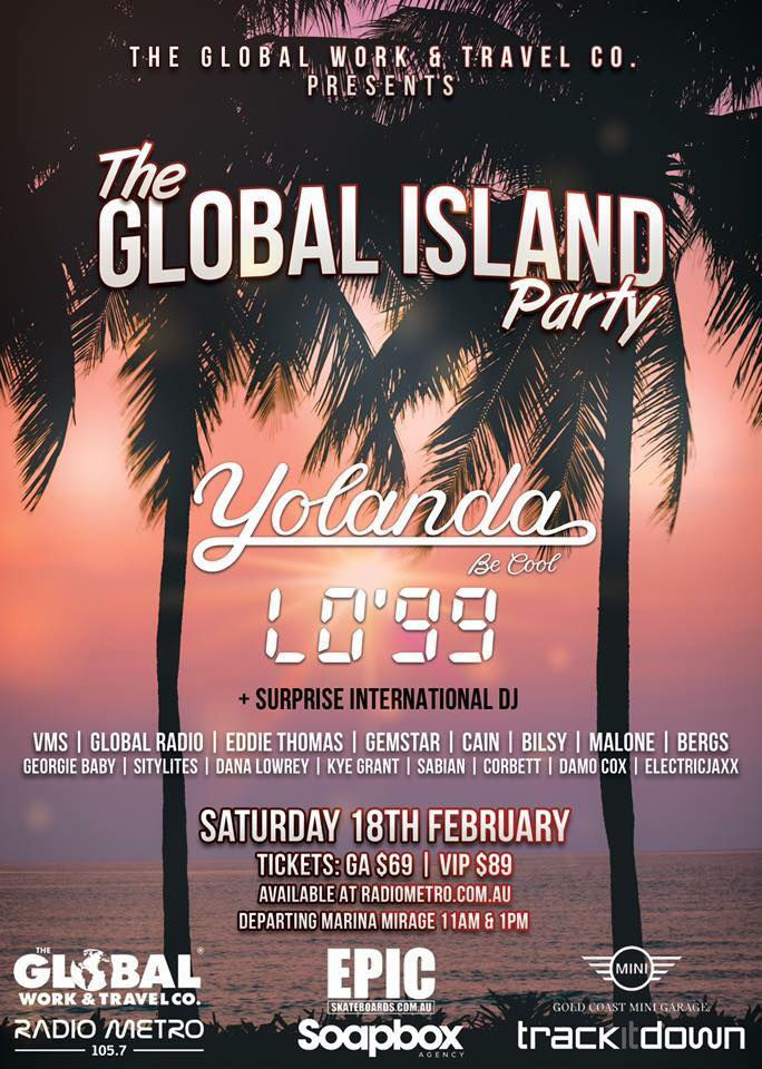 Radio Metro global island party