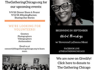 Mandela Day Update, Fall Preview and more @ The Gathering Chicago