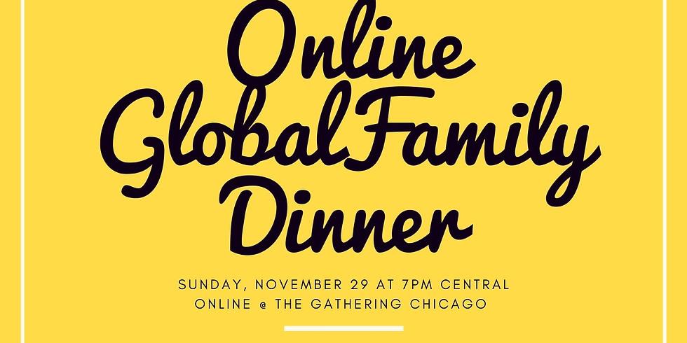 Thanksgiving Sunday Grateful Global Online Dinner