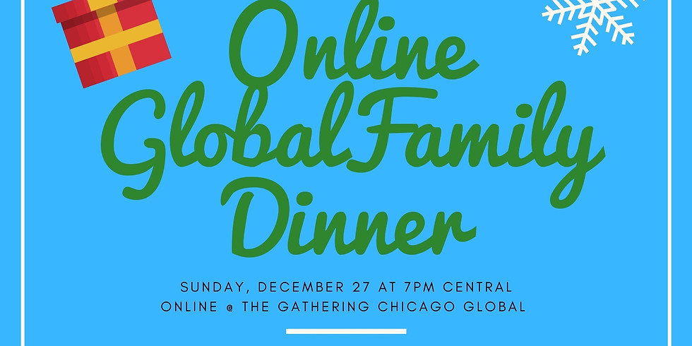 Christmas Sunday Online Global Family Gathering