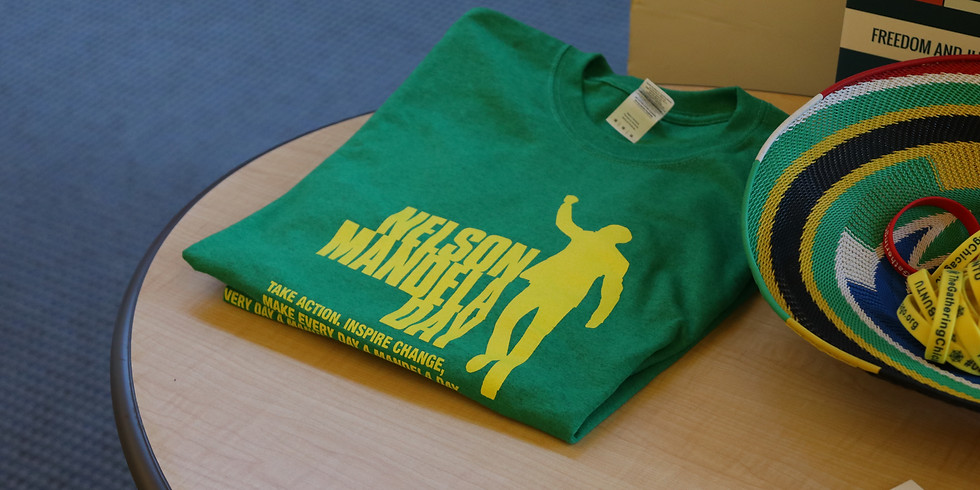 Mandela Day T-Shirts - Support #HealingRacism & Peace in the City Programs (1)