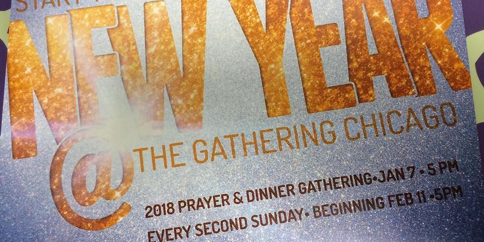 New Year's Prayer & #DinnerShare - Jan. 7 5pm