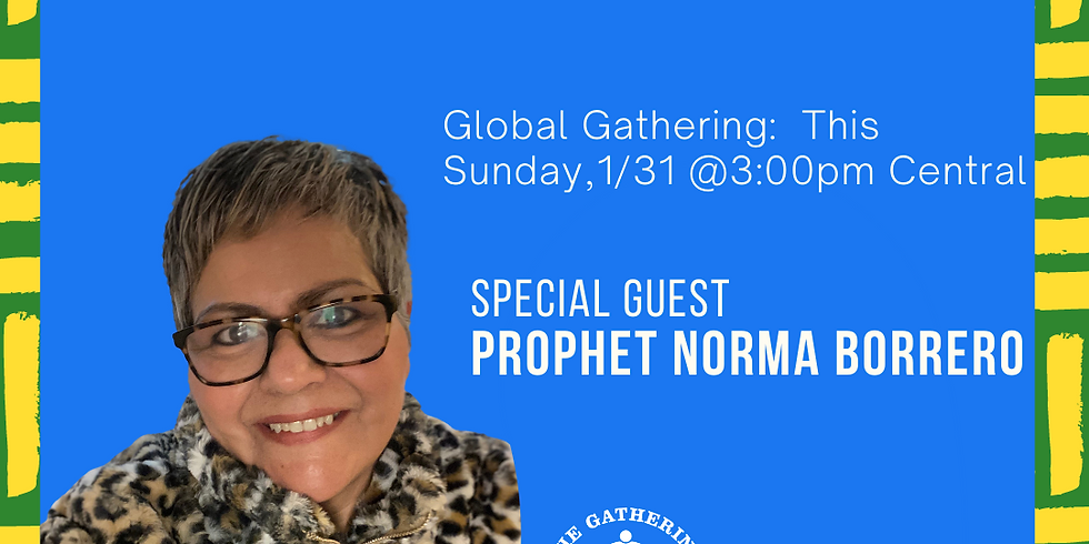 """Global Gathering:  Removing the Barriers to Your """"Why"""""""
