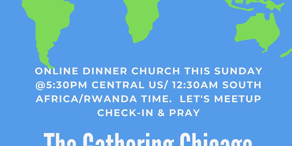 Online Dinner Church Meetup