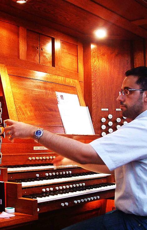 Noel Gallo organ builder