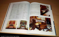 Article on the Institute of British Organ Building journal - Xewkija organ