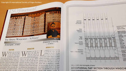 Article on the Journal of the International Society of Organ Builders - The Spring Chest, 'A Vento'