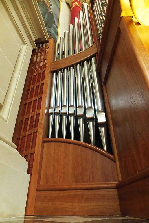 Organ fine design detail