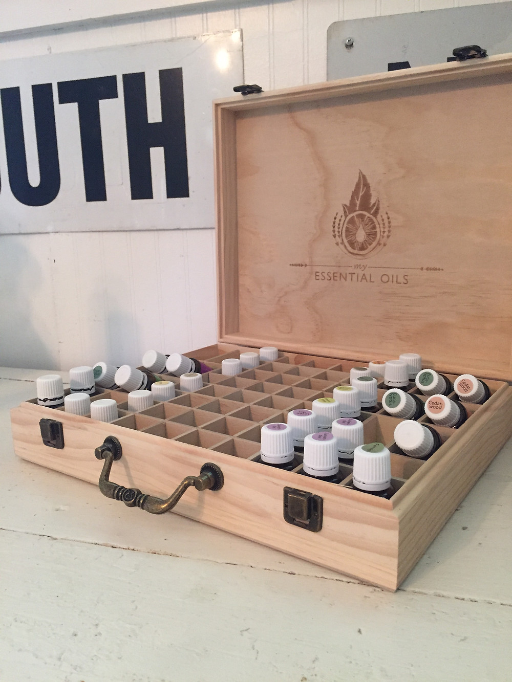 Gadabout Gal Tiffany's home apothecary of Young Living Essential Oils