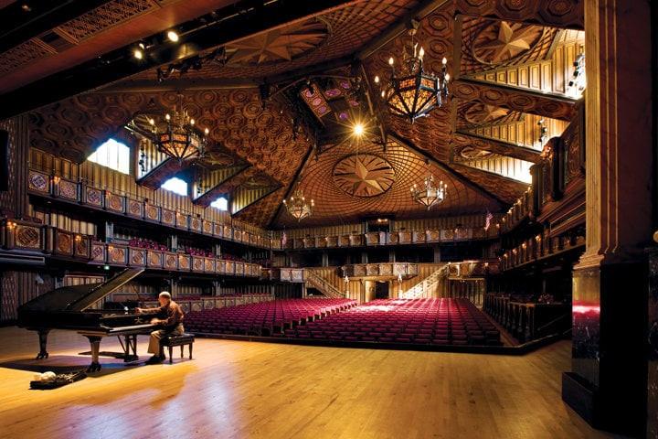 Festival Institute, Round Top, Texas... a hidden gem!  Breath taking architecture!