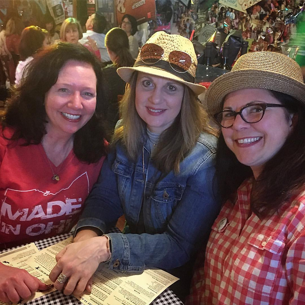 Gadabout Gals at Royers Round Top Cafe:  A Texan Trip to Visit Tiff