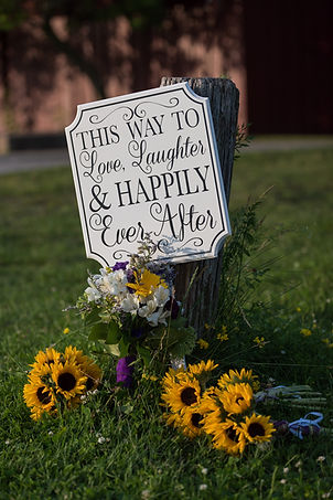 This way to love, laughter and happily ever after