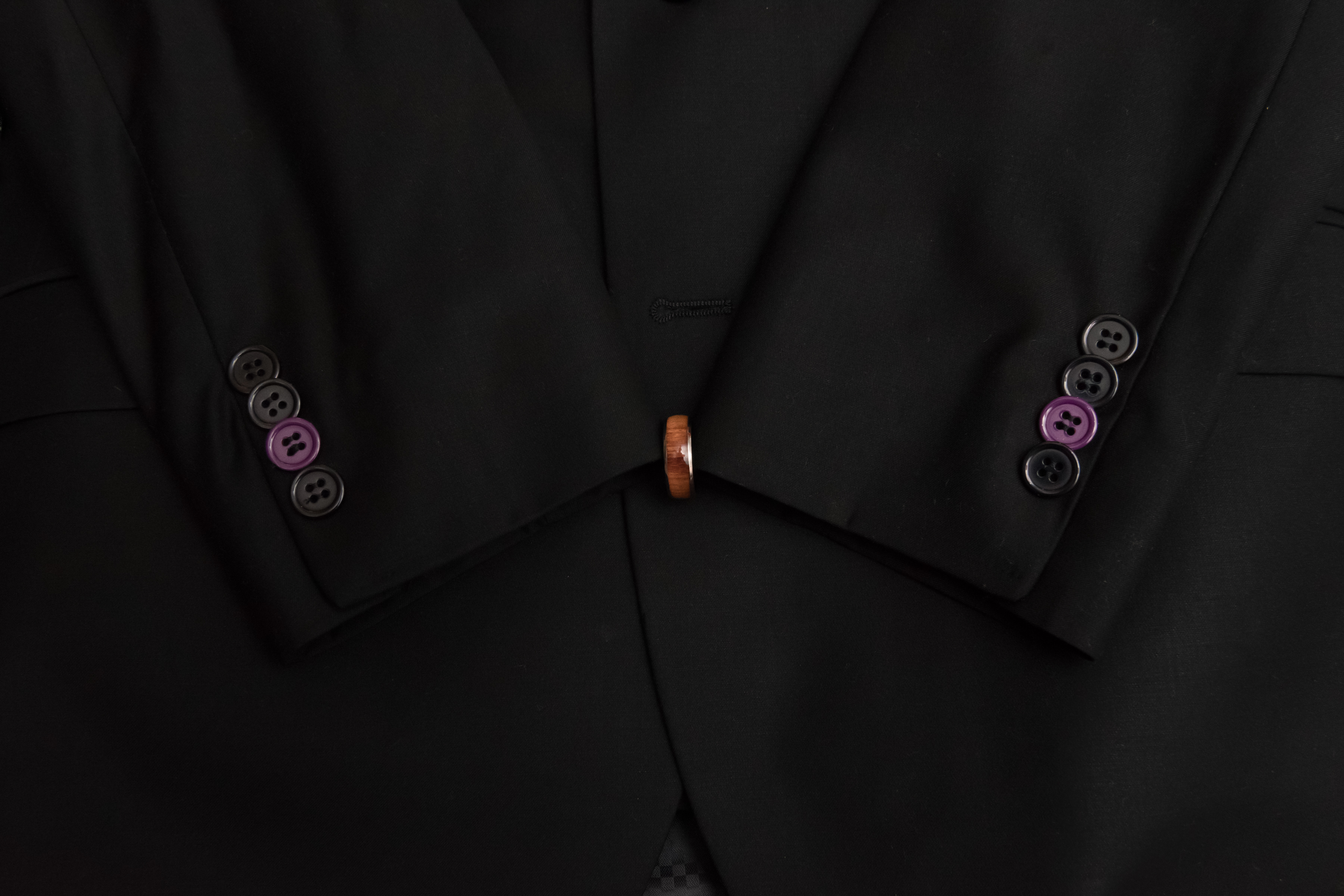 Suit & Wedding Ring