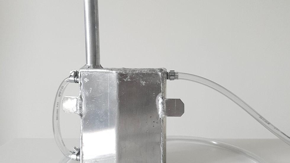 Vase d'expansion aluminium pour Motocross