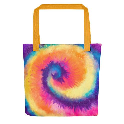 Cosmic Tie Dye Tote bag