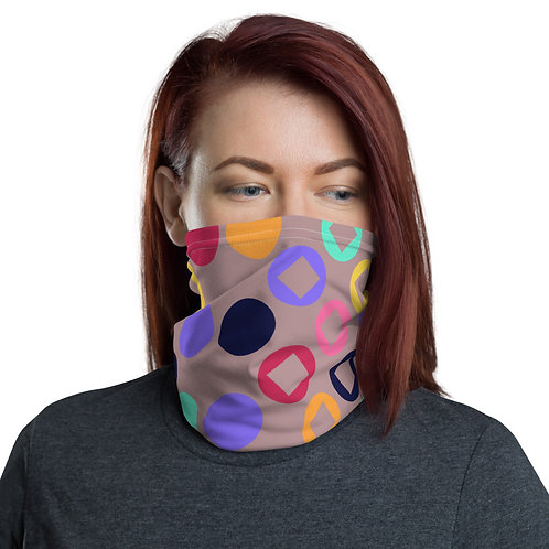 Circles + Squares Face Mask