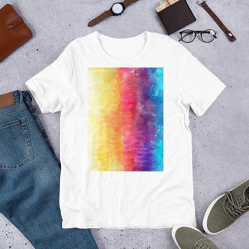 Fade Tie Dye Short-Sleeve Unisex T-Shirt