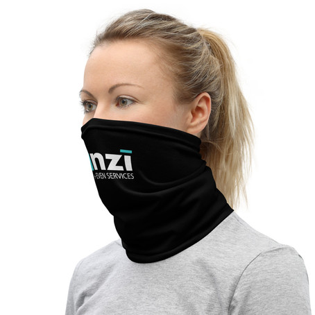 Business are requiring staff and customers to wear a face mask.