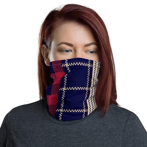 Multi Plaid Face Mask