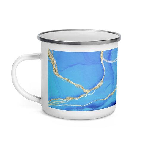 Geode Enamel Mug