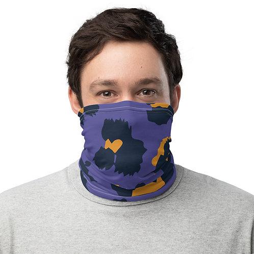 Leopard Purple Pattern Face Mask
