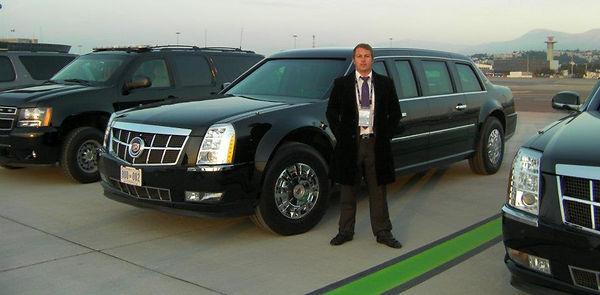 Obama US Cannes chauffeur driver sightseeing limousine Monaco airport Lions Mipim Mipcom Film festival