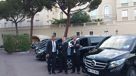 Limousine Monaco Cannes driver