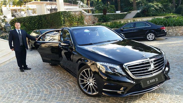Cannes driver service chaffeur Limousine