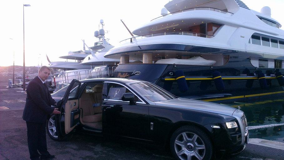 Limousine Cannes luxury transport