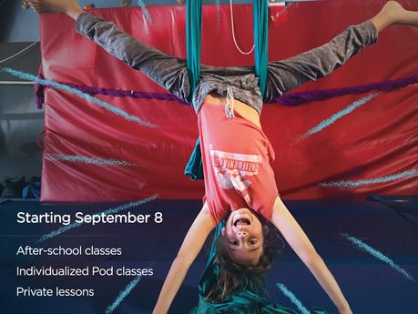 Classes to resume September 8th 2020!