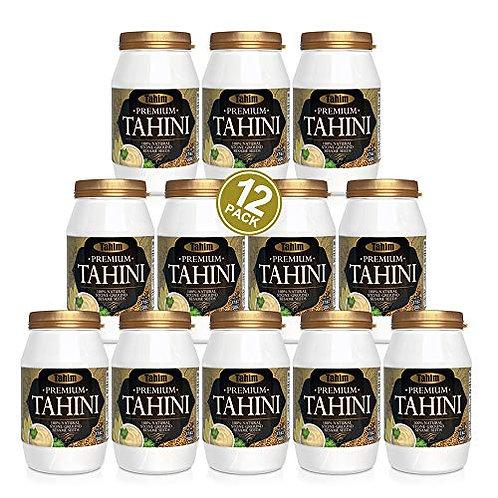 Original Tahim Tahini, 12* 17.6oz (500gr) each Jumbo pack