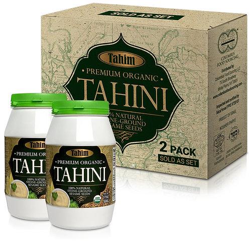 Organic Tahim Tahini, 2* 17.6oz (500gr) each