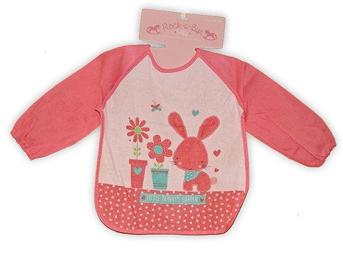 ROCK A BYE BABY BAVOIR BEBE / ENFANT PLASTIQUE ROSE A LAPIN 32cm x 32cm