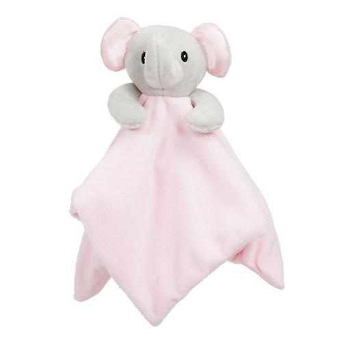 ADORABLE TRES DOUX DOUDOU PELUCHE POUR BEBE ELEPHANT ROSE