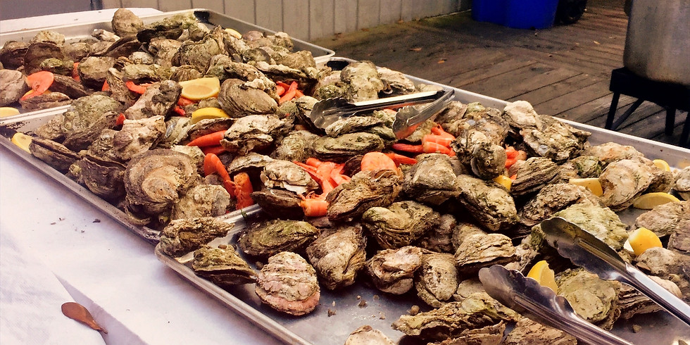 Easter Side Porch Oyster Roast; First Seating