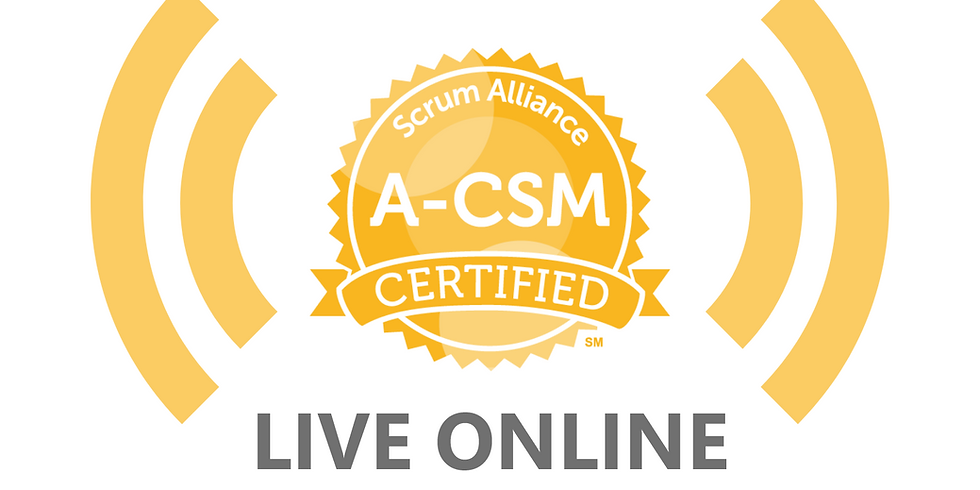Live Online - 2-Day Advanced Certified Scrum Master Course (A-CSM)