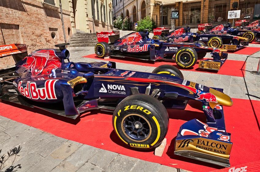 Red Bull Formula 1 cars
