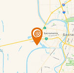 Map of OmniDuct Sacramento Location