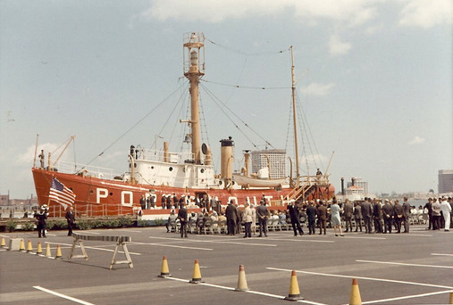 Lightship Opening Day Ceremony