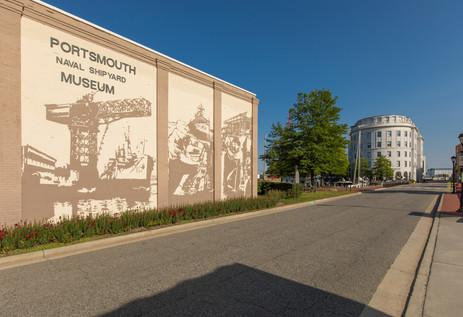 Shipyard Museum Mural