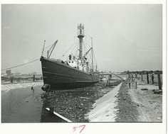 Lightship Being Floated Into Home