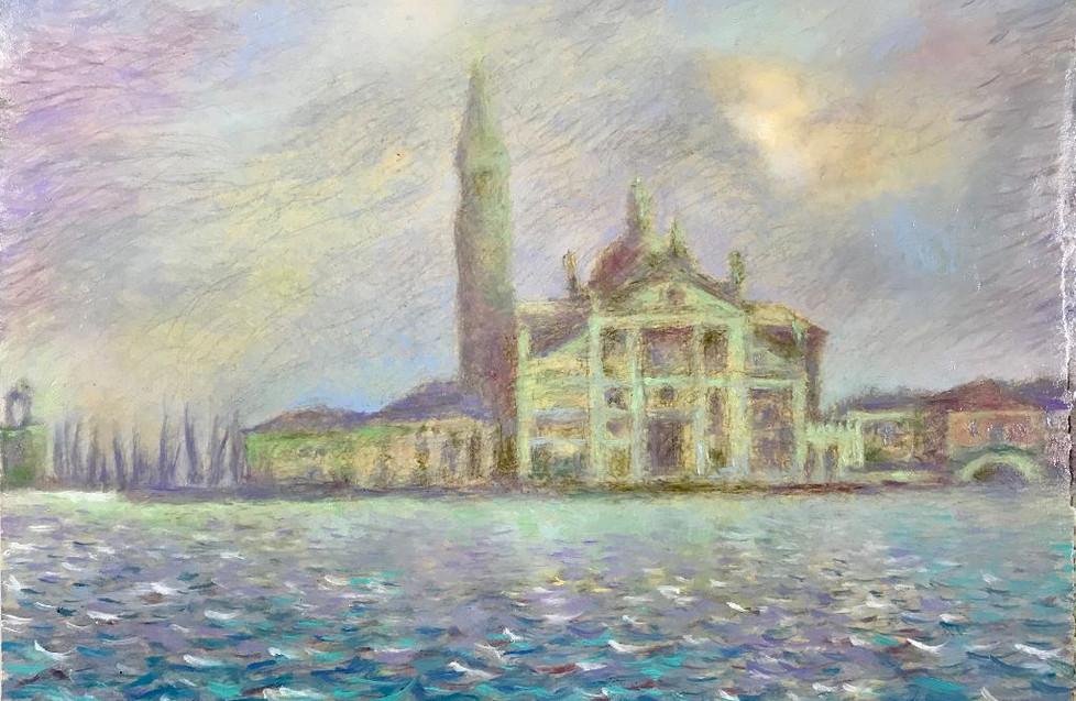 Andrea Canale - Nebbia a San Giorgio Maggiore