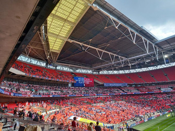 Bees finally get taste of play-off honey as Wembley triumph ends 74-wait for top flight