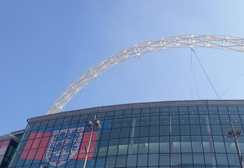 Welcome serenity reigns on England's return to the scene of those Wembley crimes