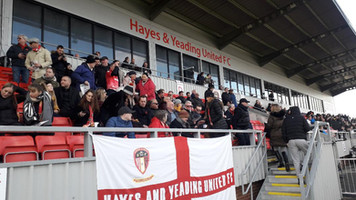Valiant second half effort gives comfort to Hayes & Yeading despite FA Cup exit