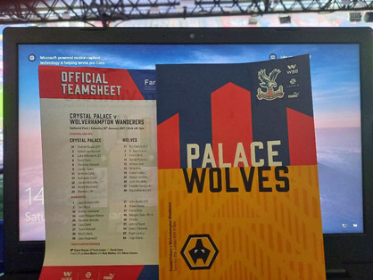 Eze on target as Palace do just enough to get the better of Wolves