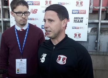 Orient boss Ross Embleton encouraged by start to season, despite Swindon defeat