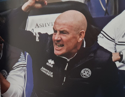 Warburton unhappy with poor reaction to first goal as shot-shy Rangers lose tamely