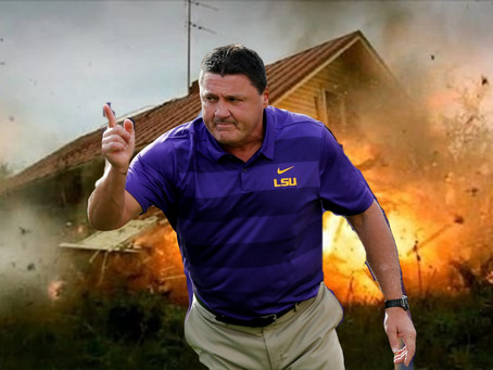 "2020 AN LSU TWILIGHT ZONE? EXPERTS SAY:  ""GET YER POPCORN READY"""
